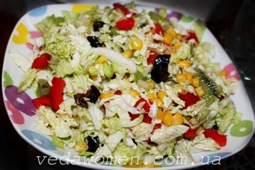 Необычный, легкий и полезный салат