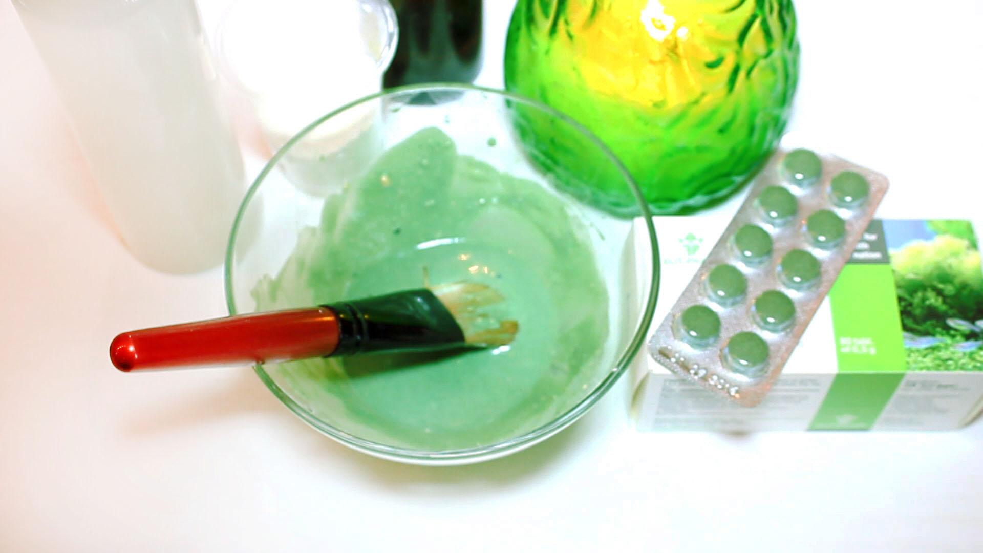 Рецепт маски из спирулины для омоложения